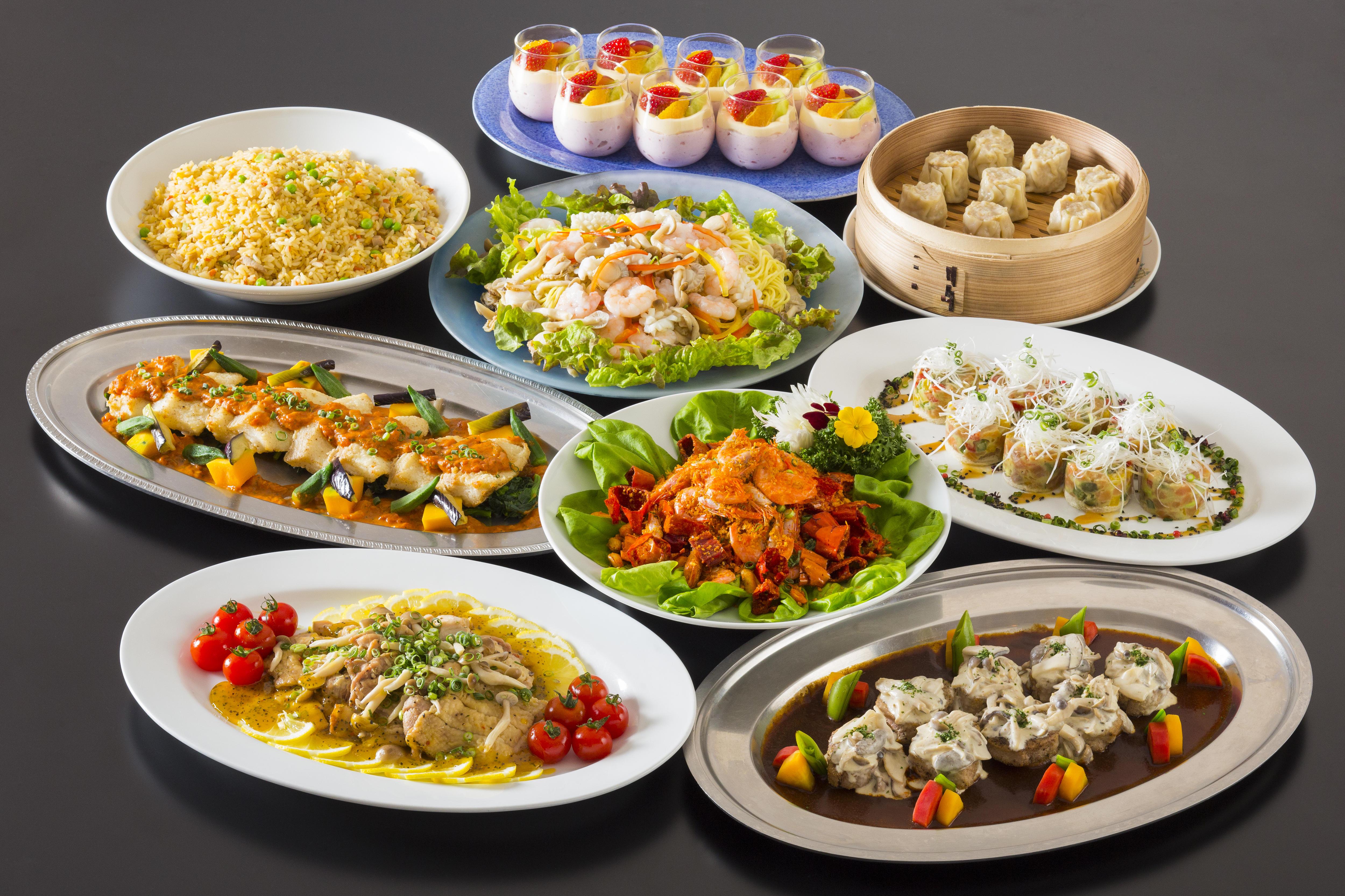Western & Chinese Kaiseki - 洋中盛り込み料理